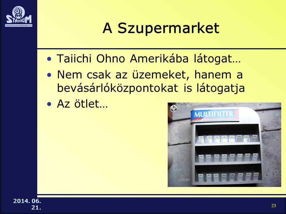 A Szupermarket Taiichi Ohno Amerikába látogat…