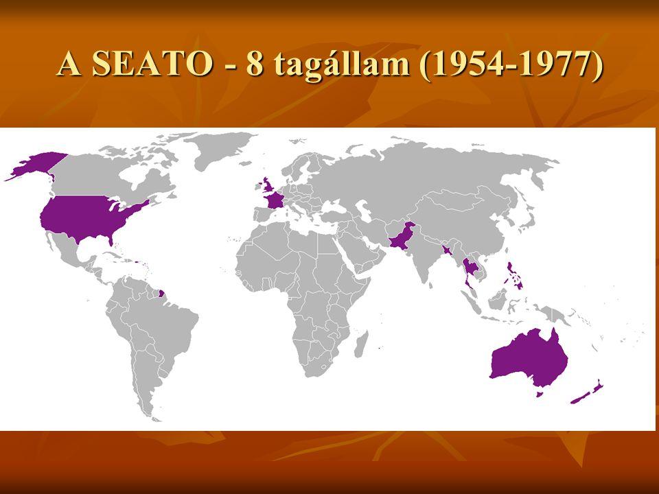 A SEATO - 8 tagállam (1954-1977)