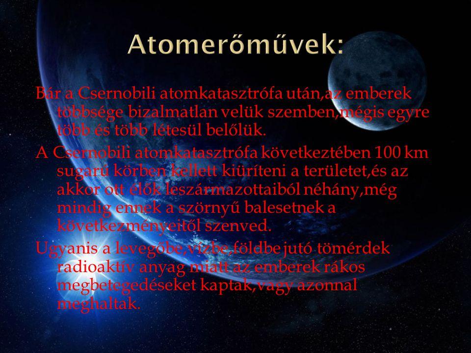 Atomerőművek: