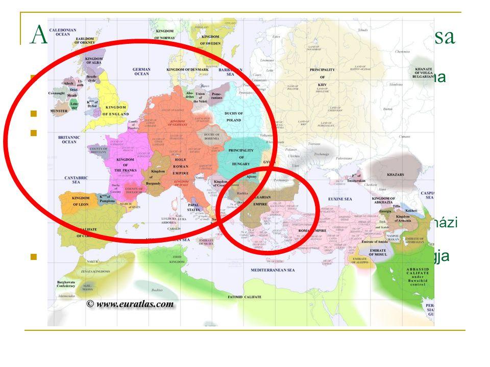 A nyugati- és a keleti egyház szétválása