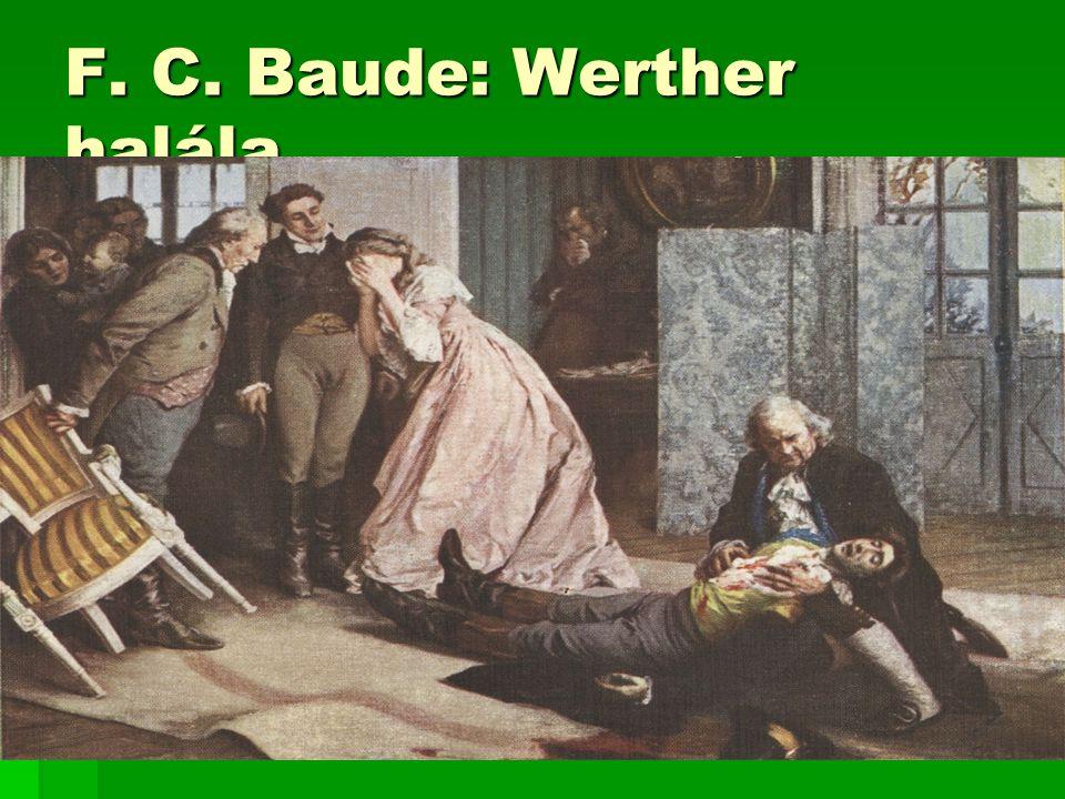 F. C. Baude: Werther halála