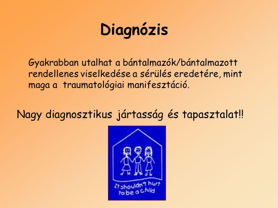 Diagnózis Nagy diagnosztikus jártasság és tapasztalat!!