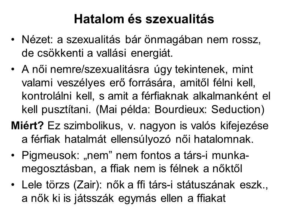 Hatalom és szexualitás