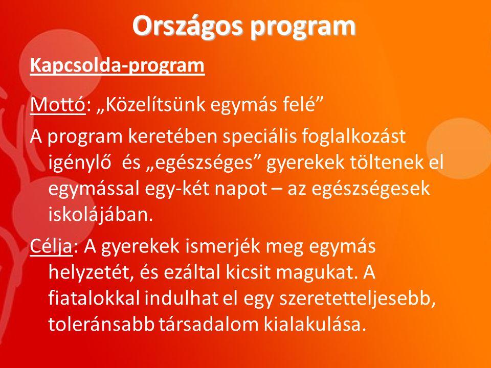 Országos program