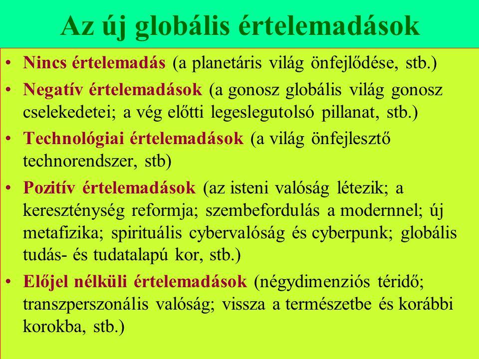 Az új globális értelemadások