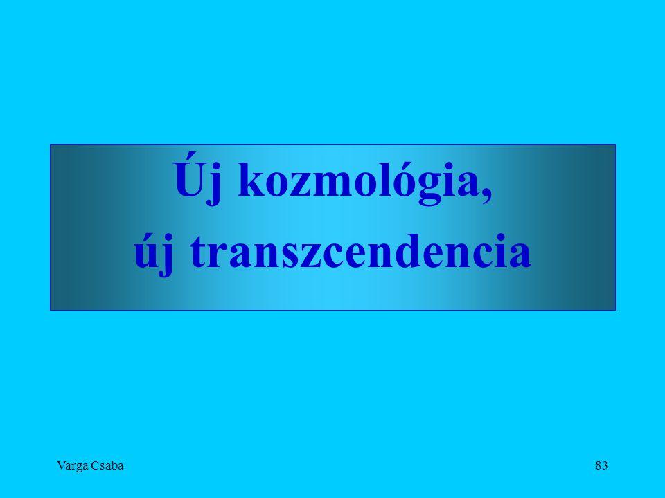 Új kozmológia, új transzcendencia