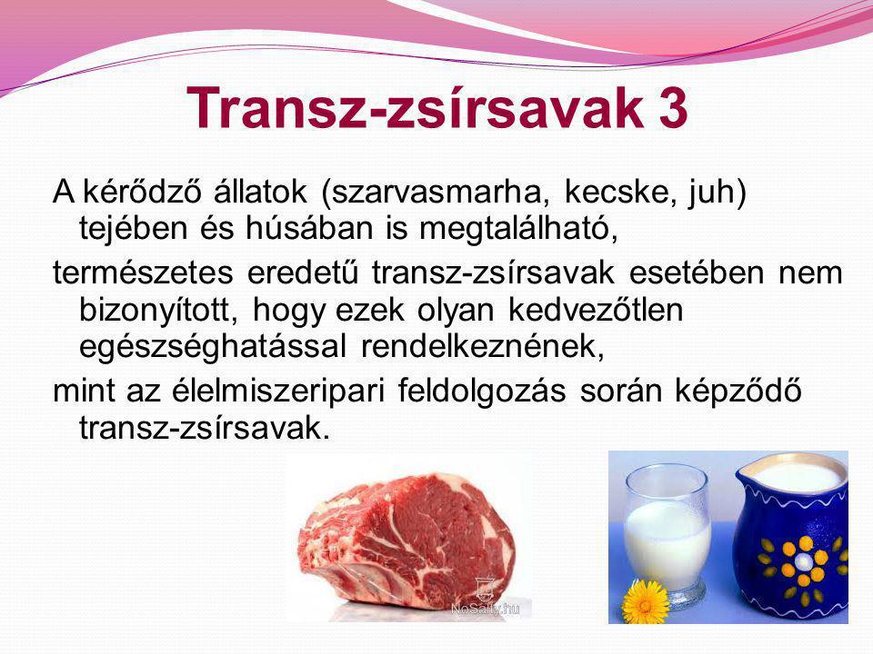 Transz-zsírsavak 3