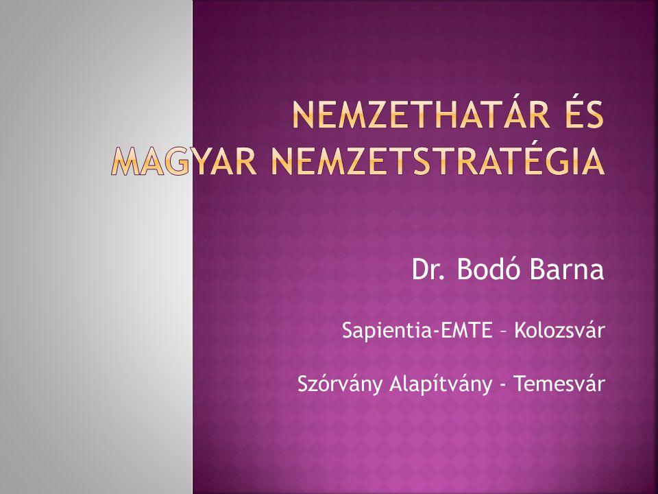 Nemzethatár és magyar nemzetstratégia