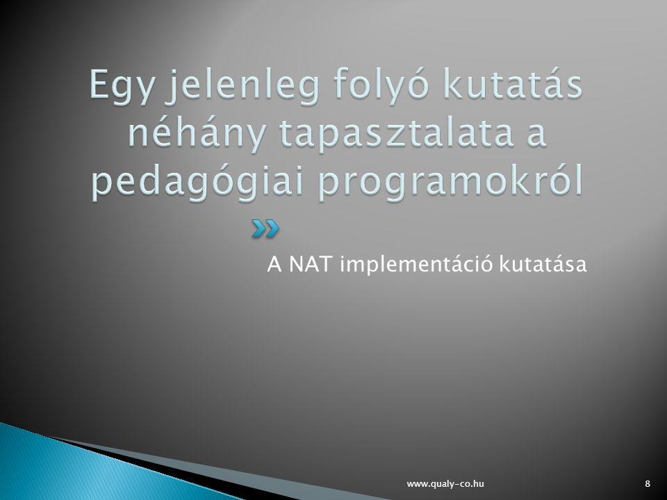 A NAT implementáció kutatása