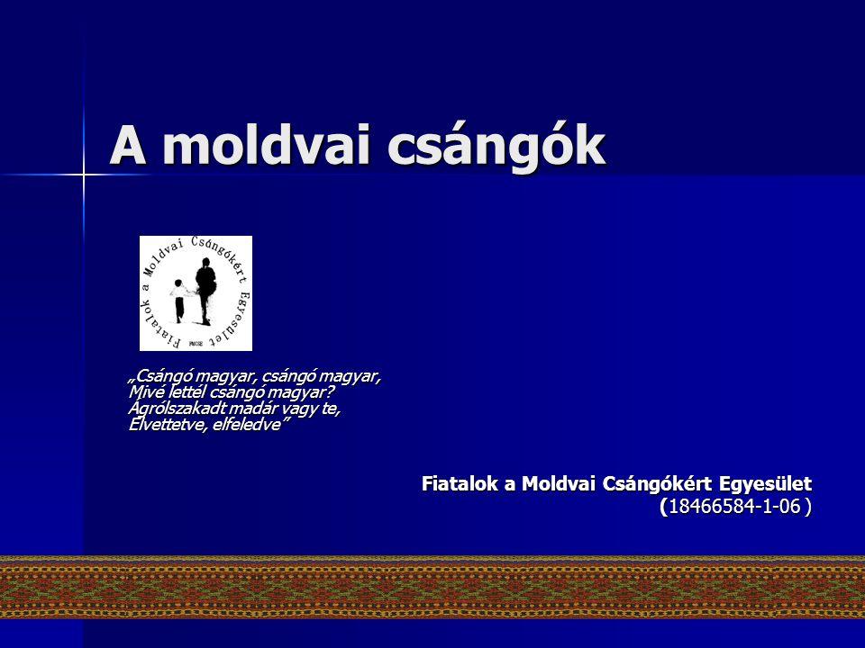 A moldvai csángók Fiatalok a Moldvai Csángókért Egyesület