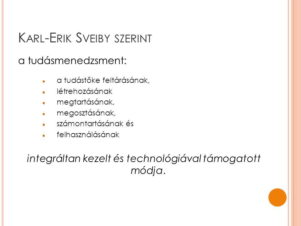 Karl-Erik Sveiby szerint