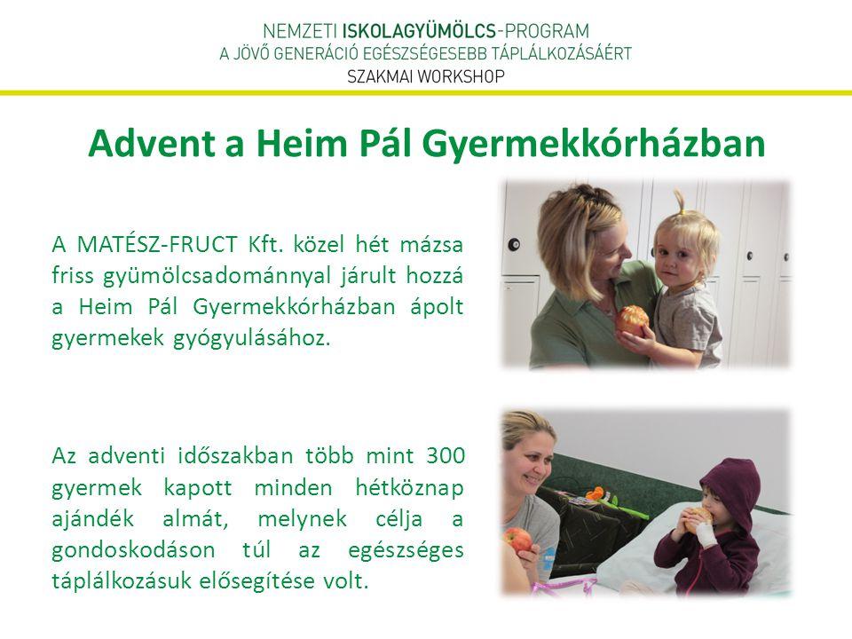 Advent a Heim Pál Gyermekkórházban