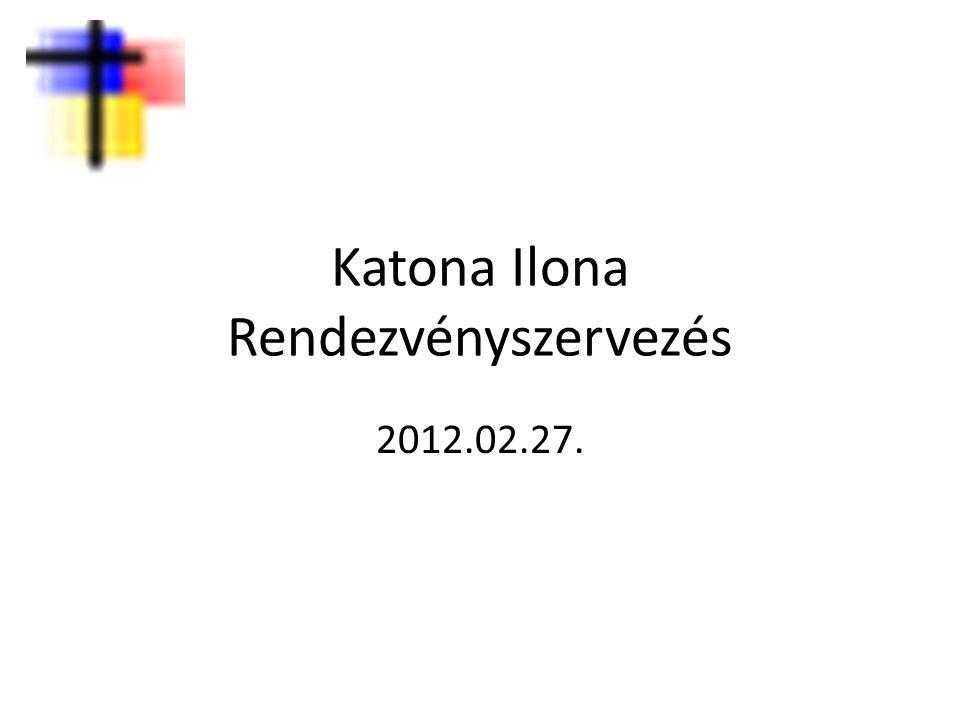 Katona Ilona Rendezvényszervezés