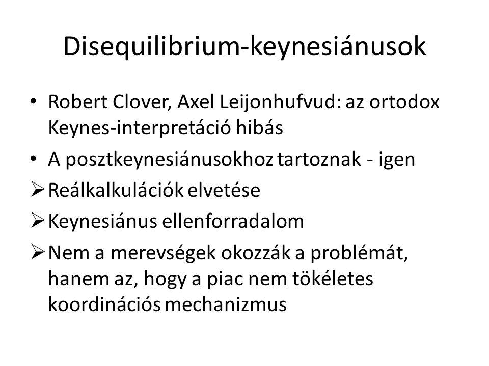 Disequilibrium-keynesiánusok