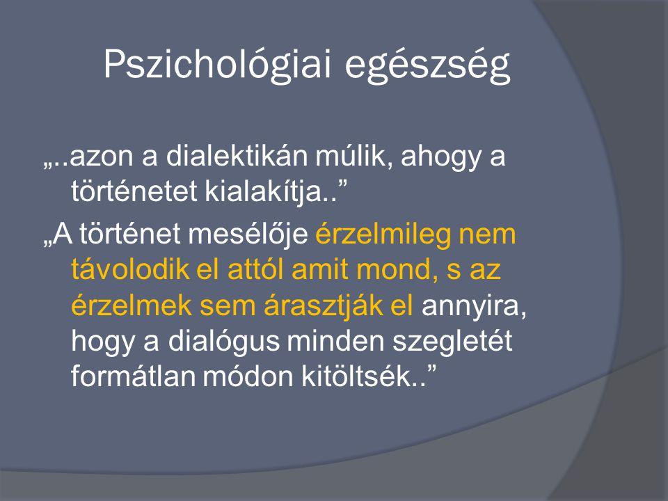Pszichológiai egészség