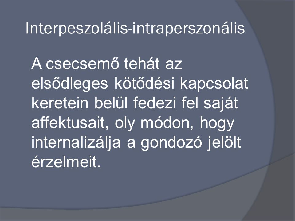 Interpeszolális-intraperszonális