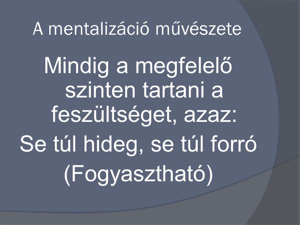 A mentalizáció művészete