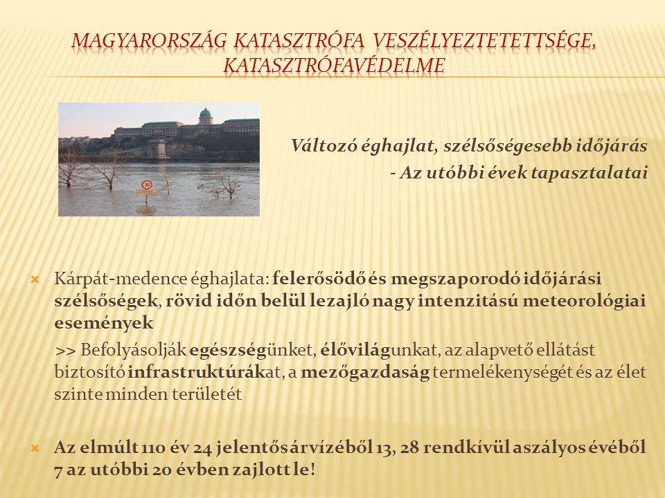 Magyarország katasztrófa veszélyeztetettsége, katasztrófavédelme