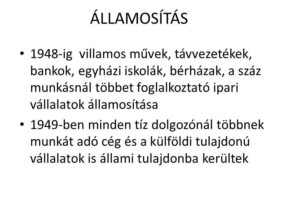 ÁLLAMOSÍTÁS