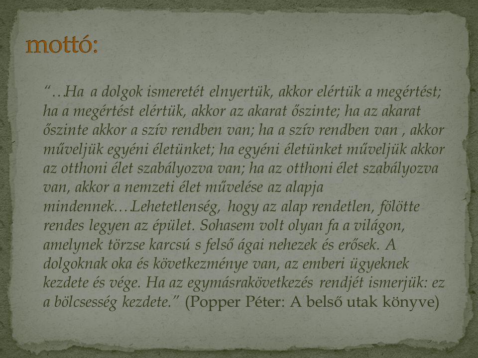 mottó: