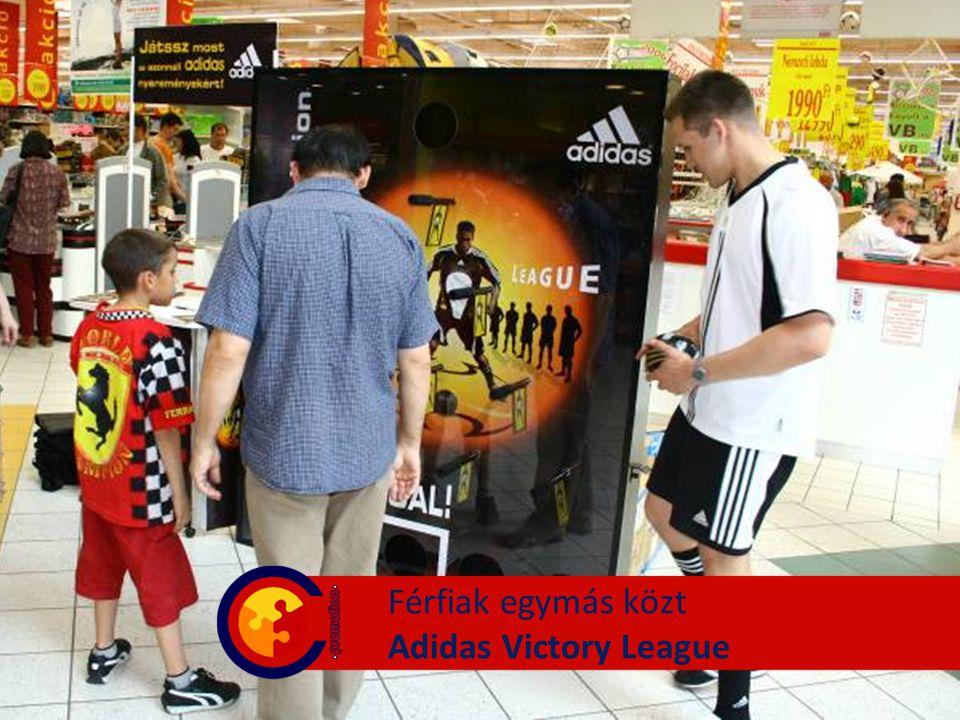 Férfiak egymás közt Adidas Victory League