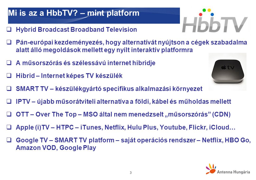 Mi is az a HbbTV – mint platform