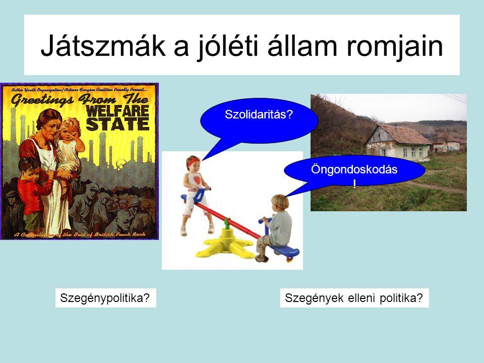 Játszmák a jóléti állam romjain