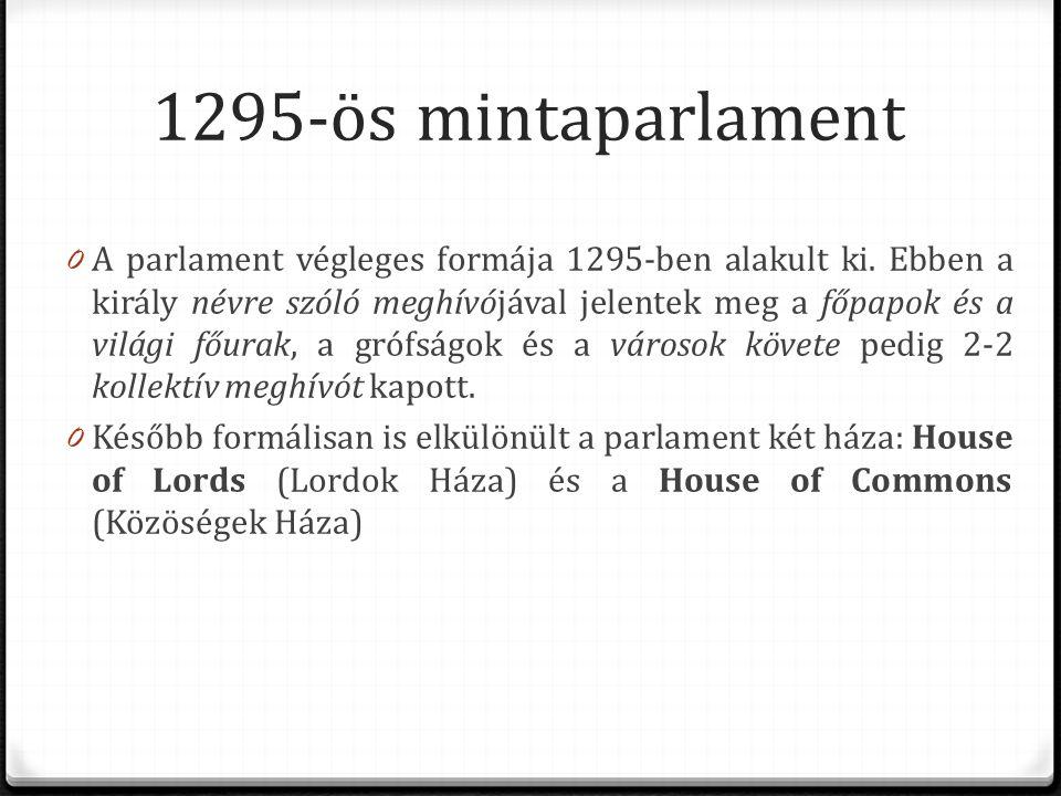 1295-ös mintaparlament