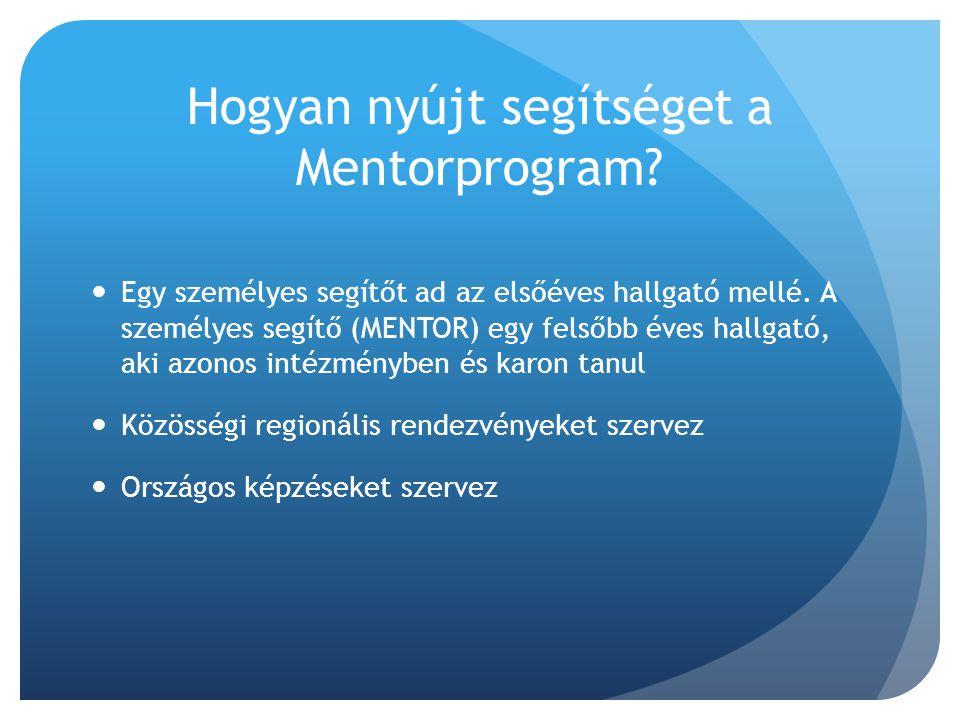Hogyan nyújt segítséget a Mentorprogram