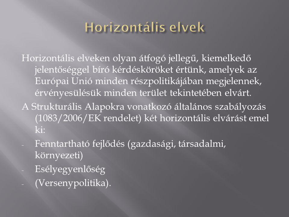Horizontális elvek