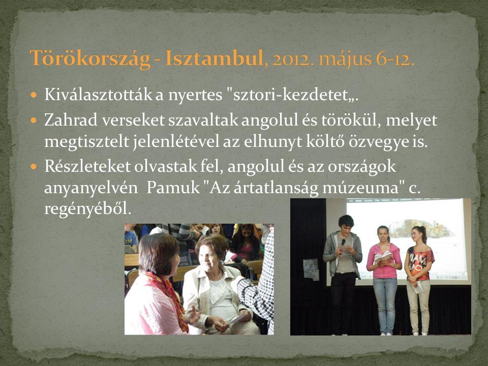 Törökország - Isztambul, 2012. május 6-12.