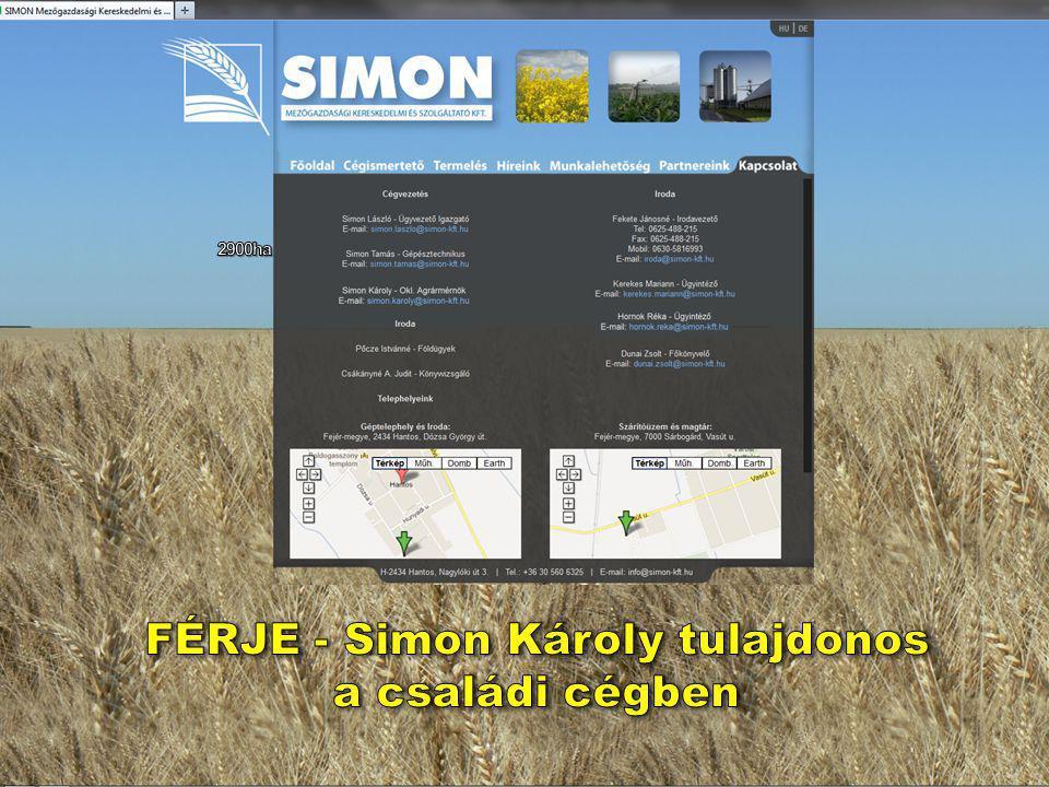 FÉRJE - Simon Károly tulajdonos