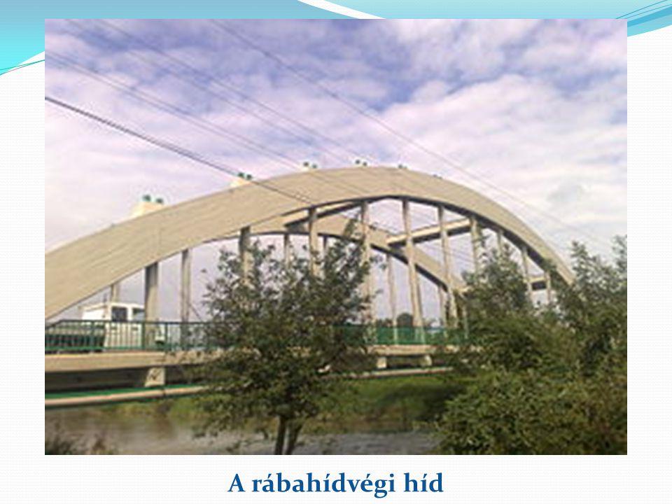 A rábahídvégi híd
