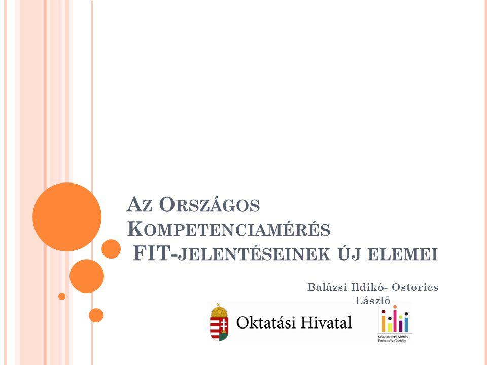 Az Országos Kompetenciamérés FIT-jelentéseinek új elemei