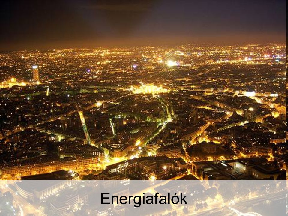 Energia és energia Energiafalók