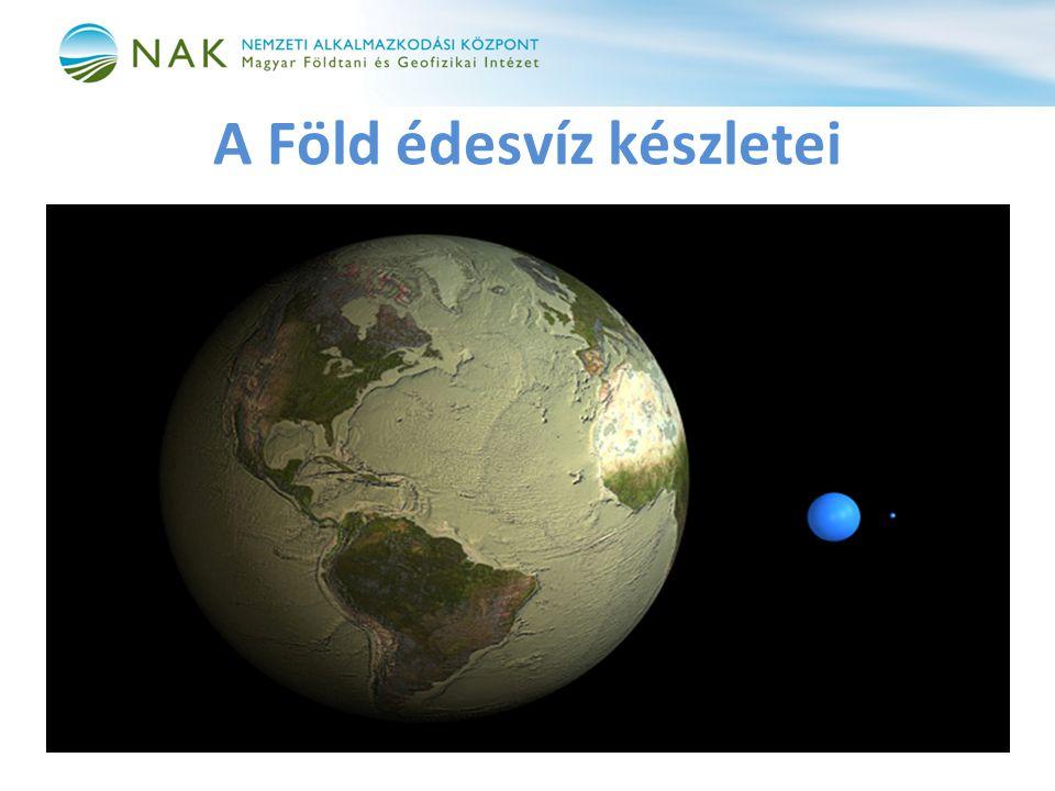 A Föld édesvíz készletei