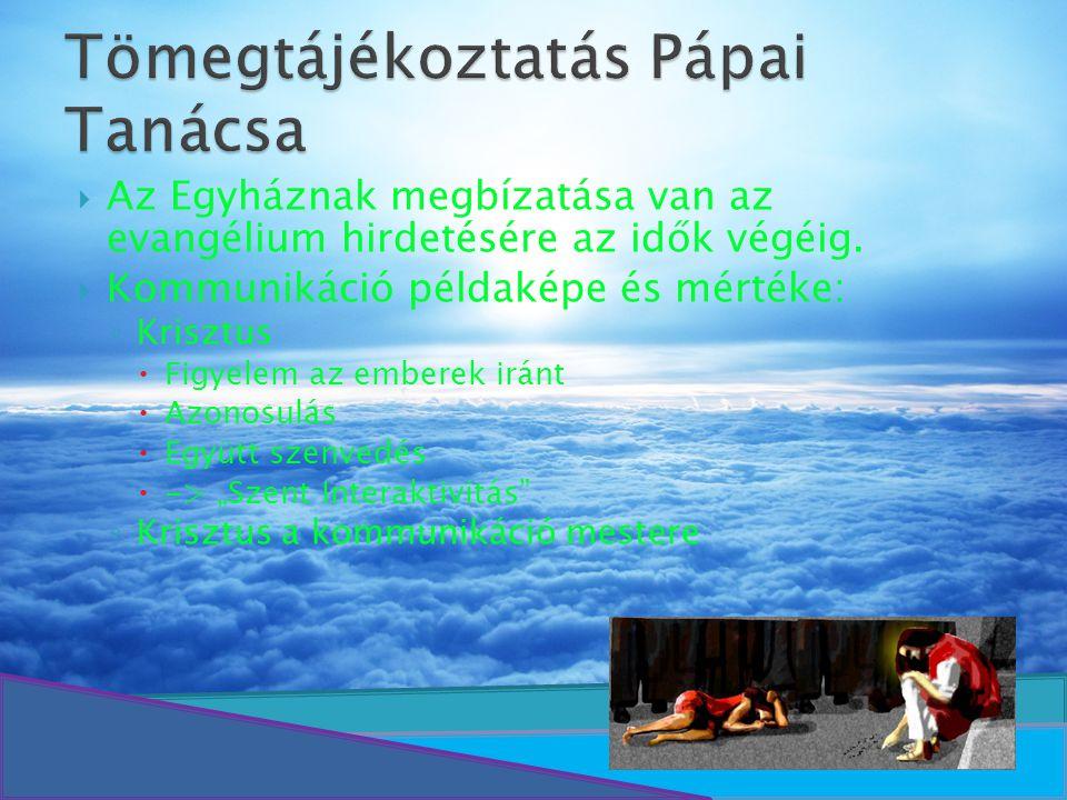 Tömegtájékoztatás Pápai Tanácsa