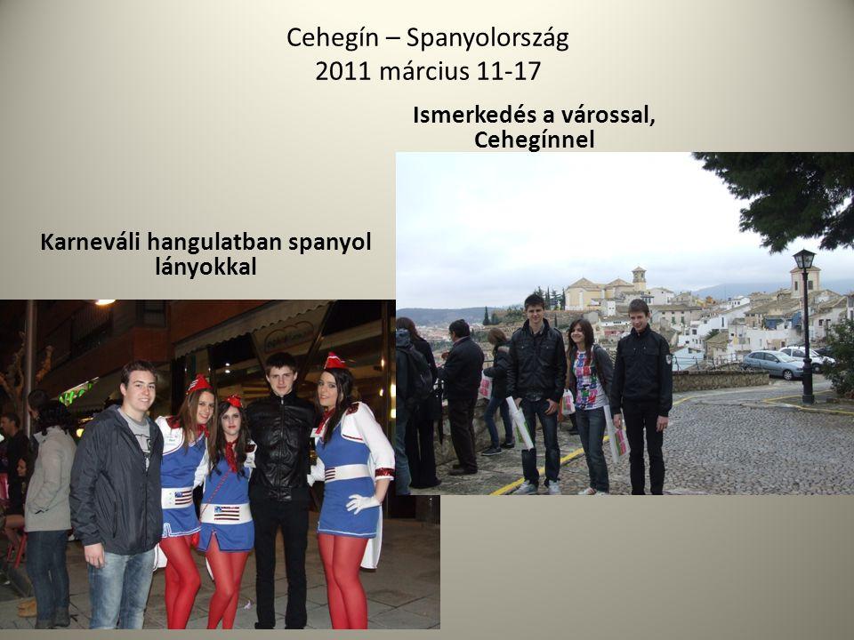 Cehegín – Spanyolország 2011 március 11-17
