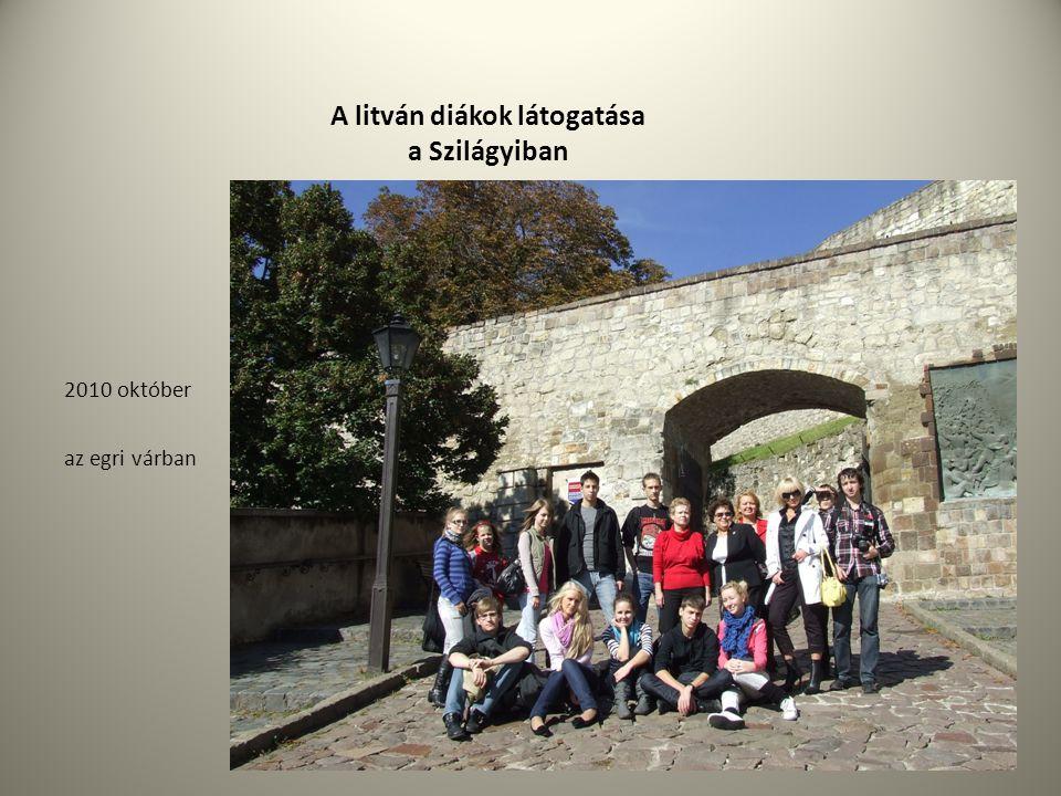 A litván diákok látogatása a Szilágyiban