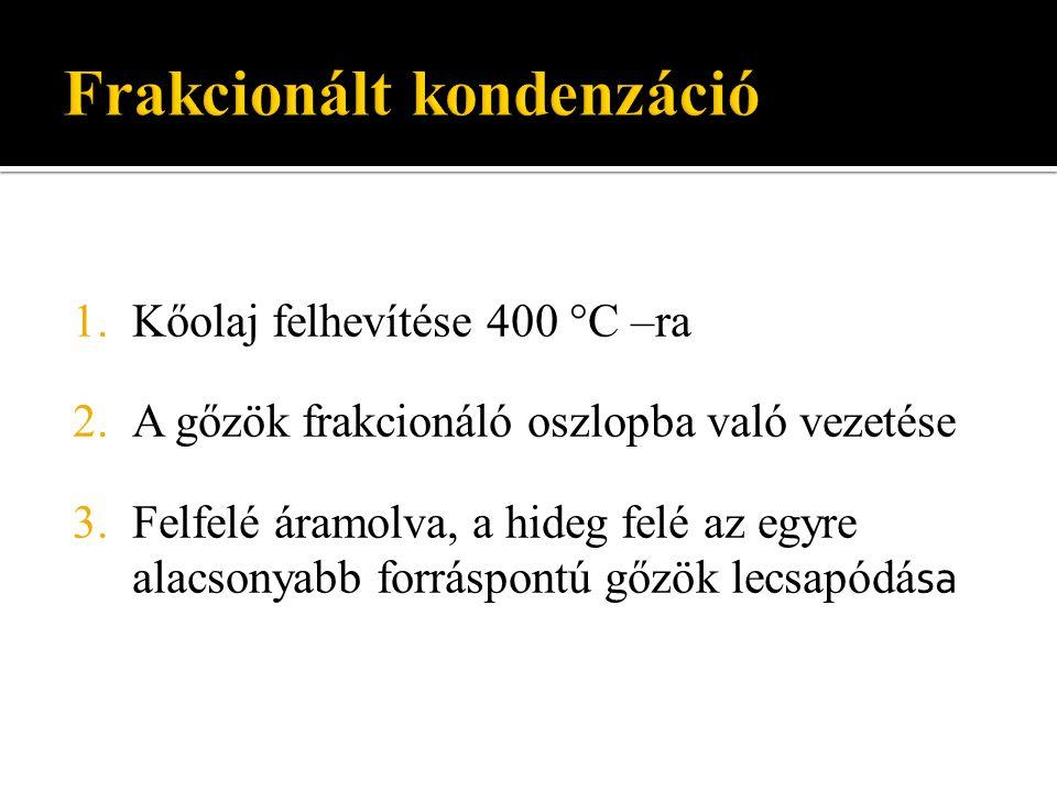 Frakcionált kondenzáció