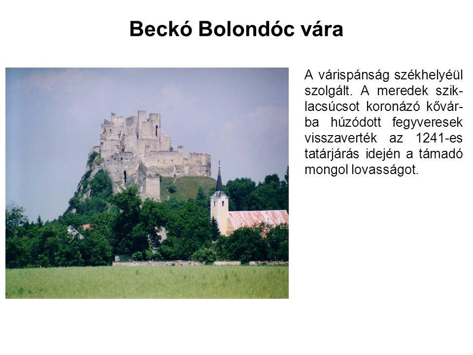 Beckó Bolondóc vára
