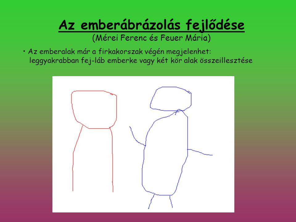 Az emberábrázolás fejlődése (Mérei Ferenc és Feuer Mária)