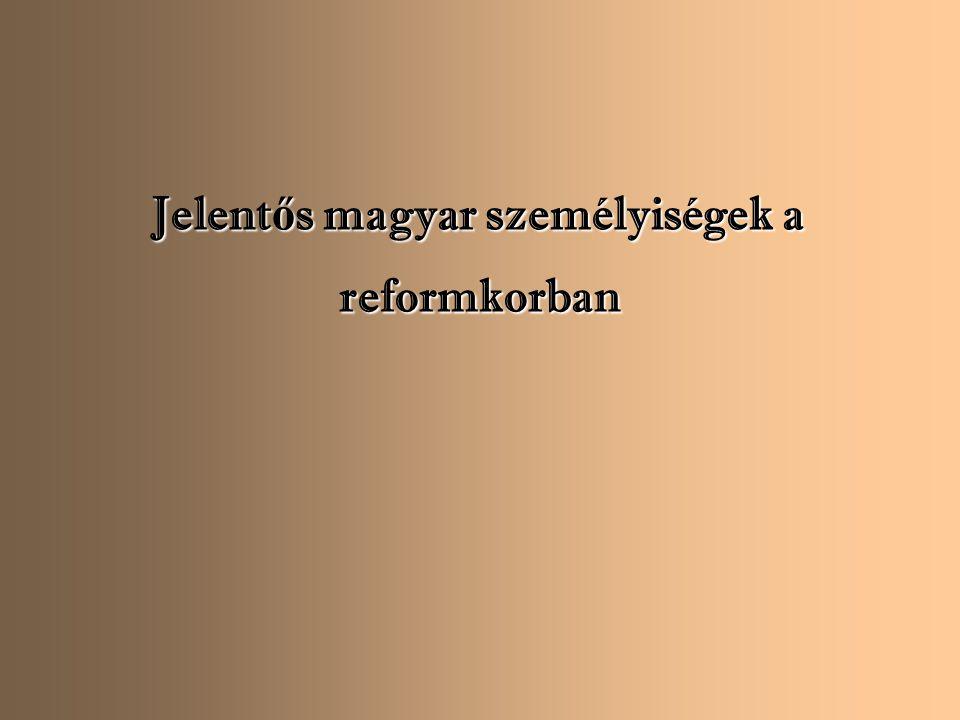 Jelentős magyar személyiségek a