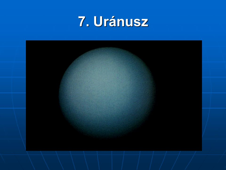 7. Uránusz