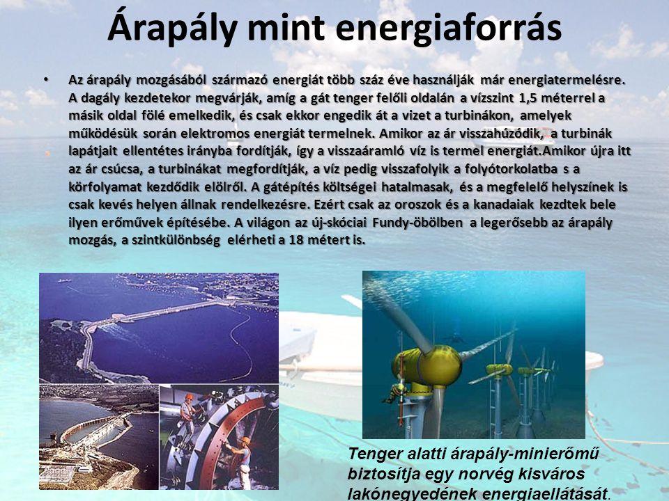 Árapály mint energiaforrás