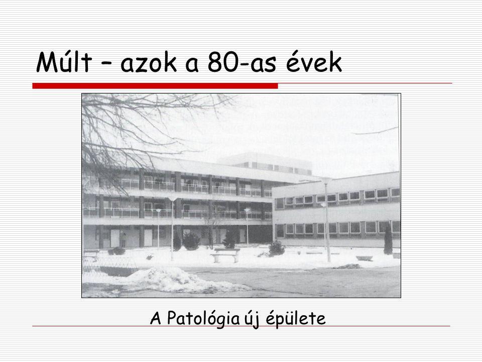 Múlt – azok a 80-as évek A Patológia új épülete