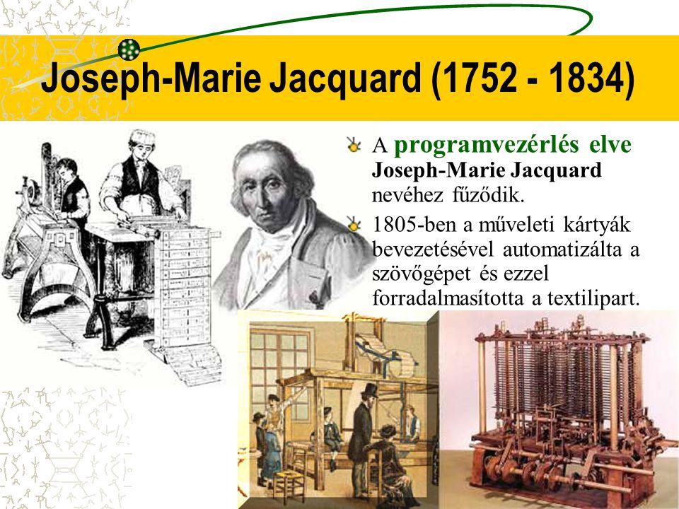 Joseph-Marie Jacquard (1752 - 1834)