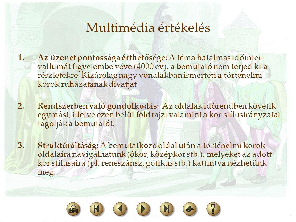 Multimédia értékelés