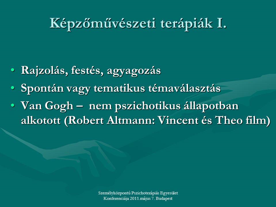 Képzőművészeti terápiák I.