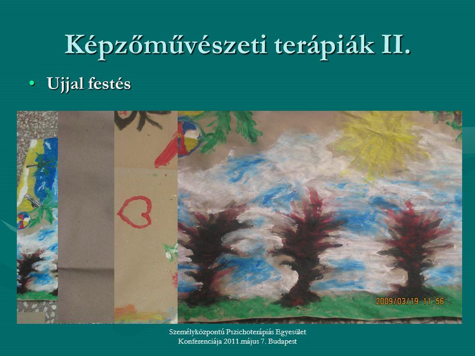 Képzőművészeti terápiák II.